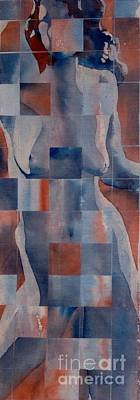 Painting - Blue Nude by Robert D McBain