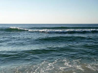Photograph - Blue Ocean 2 by Ellen Paull