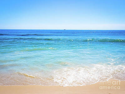 Photograph - Blue Ocean Horizon by Colleen Kammerer