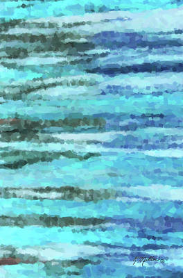 Painting - Blue Ocean by Kathie Miller