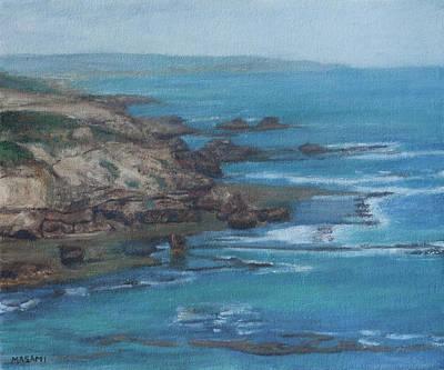 Painting - Blue Ocean by Masami Iida