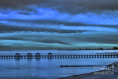 Photograph - Blue On Blue by Steven Parker