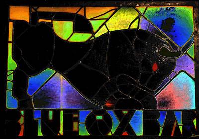 Blue Ox Bar Art Print by David Lee Thompson