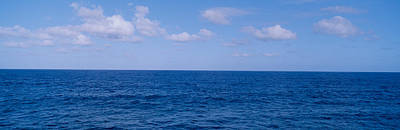 Rural Landscapes Photograph - Blue Pacific Ocean And Clouds Off Hawaii by Panoramic Images
