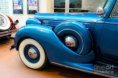 Photograph - Blue Packard by Long Love Photography