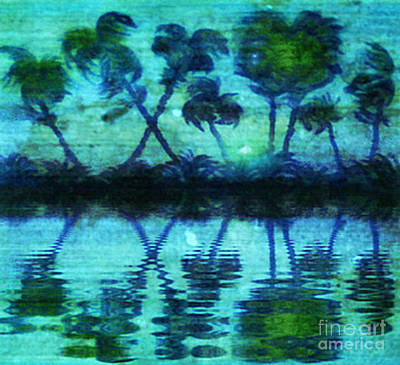 Painting - Blue Paradise by Holly Martinson