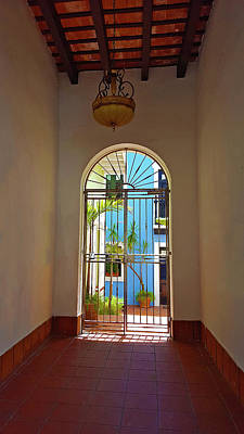 Photograph - Blue Patio by Guillermo Rodriguez