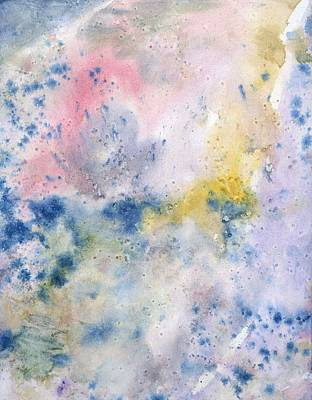 Creative Passages Painting - Blue Peace by Cassandra Donnelly