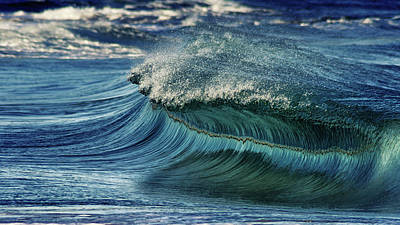 Surfing Photograph - Blue Pearl  by Stelios Kleanthous