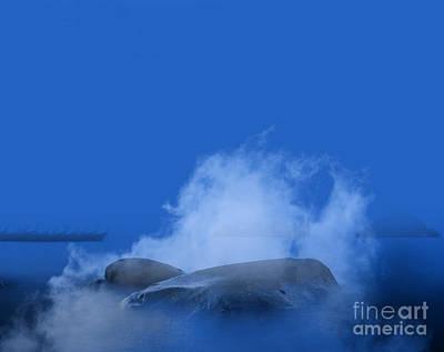 Ethereal Dreamy Ocean Photograph - Blue Phi Phi Island Sunrise by Jorgo Photography - Wall Art Gallery