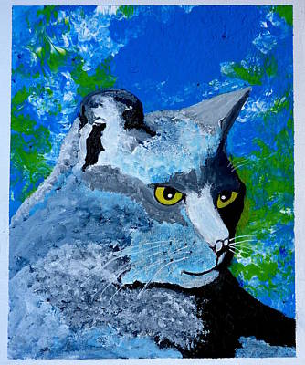 Painting - Blue by Pj Artman