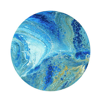 Painting - Blue Planet by Darice Machel McGuire
