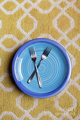 Photograph - Blue Plate Special by Edward Fielding