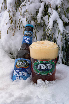 Beer Photos - Blue Point Winter Ale by Rick Berk