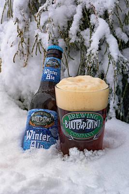 Beer Photos - Blue Point Winter Ale by Rick Berk