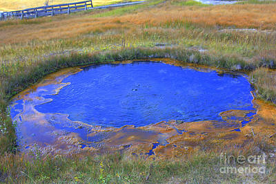 Photograph - Blue Pool by Cynthia Mask