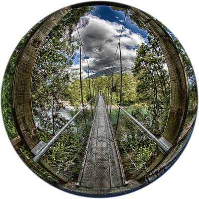 Photograph - Blue Pools Bridge by Chris Cousins