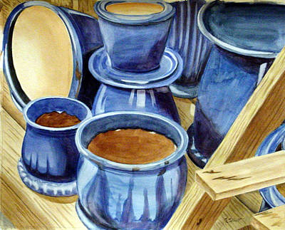 Blue Pots Original