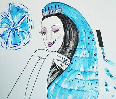 Photograph - Blue Princess by Jasna Gopic