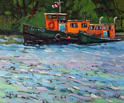 Blue Quail Original by Phil Chadwick