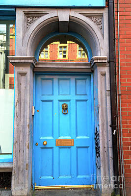 Photograph - Blue Reflections In Dublin by John Rizzuto