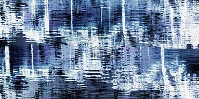 Digital Art - Blue Reflections by Patricia Strand