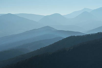 Photograph - Blue Remembered Hills by Jean Gill