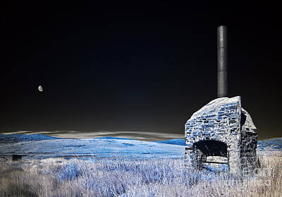 Blue Remembered Hills Art Print by Russ Brown