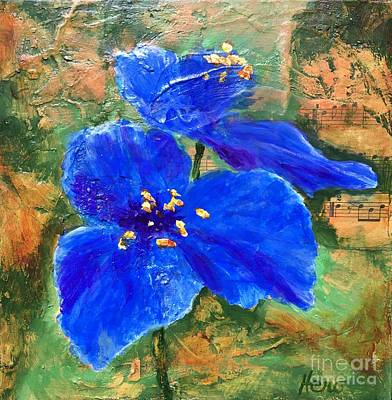 Painting - Blue Rhapsody by Marcia Hero