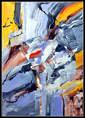 Blue Rider  Art Print by Jacek  Ungierat - Jung