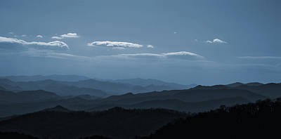 Photograph - Blue Ridge Blue by Rick Hartigan
