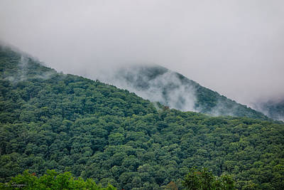 Photograph - Blue Ridge Clouds by Brian Shepard