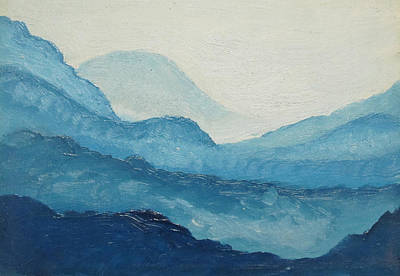 Painting - Blue Ridge by D T LaVercombe