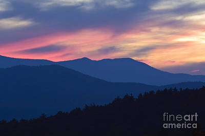Photograph - Blue Ridge - D009562 by Daniel Dempster