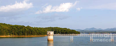 Photograph - Blue Ridge Dam by Michael Waters