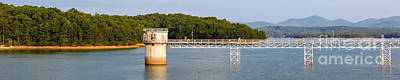 Photograph - Blue Ridge Dam - Panoramic by Michael Waters