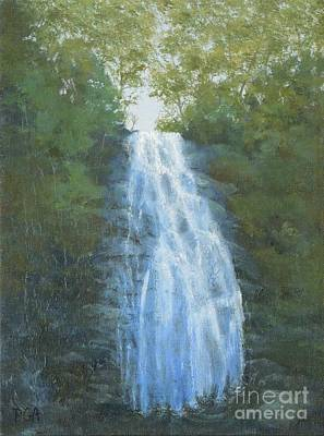 Painting - Blue Ridge Falls by Phyllis Andrews