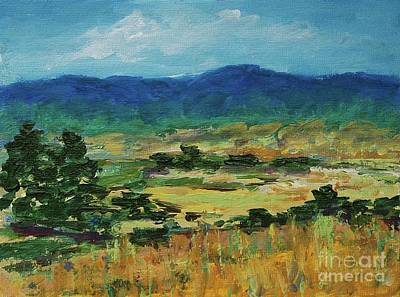 Painting - Blue Ridge by Gail Kent