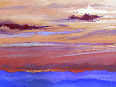 Painting - Blue Ridge Going Down by Catherine Twomey