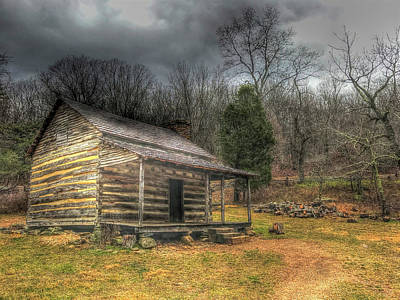 Photograph - Blue Ridge Homestead by Don Mercer