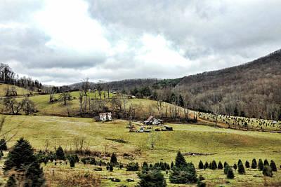 Photograph - Blue Ridge Homestead by Grace Dillon