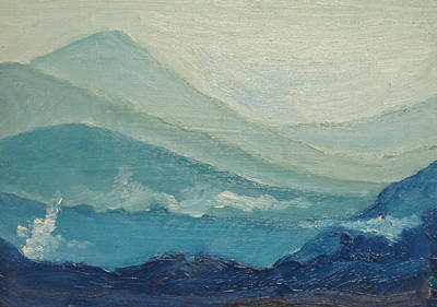 Painting - Blue Ridge II by D T LaVercombe