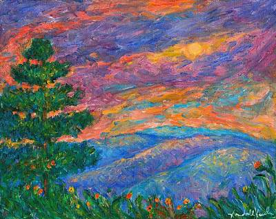 Blue Ridge Jewels Art Print