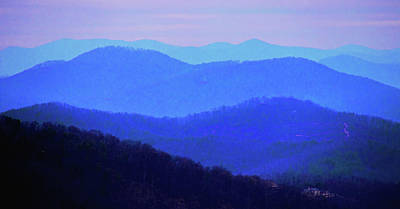 Ira Marcus Royalty-Free and Rights-Managed Images - Blue Ridge Magic by Ira Marcus