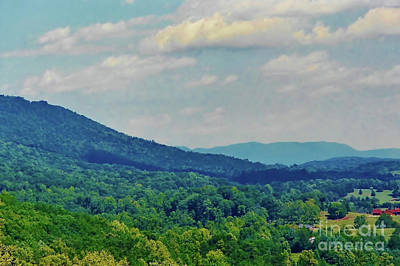Photograph - Blue Ridge Mountain Beauty by D Hackett
