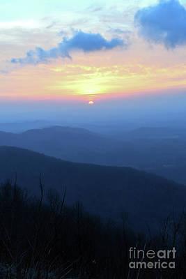 Photograph - Blue Ridge Mountain Sunrise - Floyd Virginia by Kerri Farley