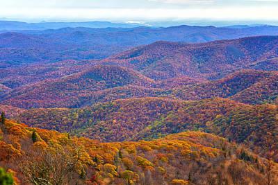 Blue Ridge Mountains 4 Art Print