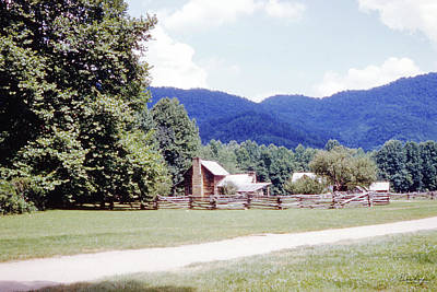 Photograph - Blue Ridge Mountains 6 by Gordon Mooneyhan