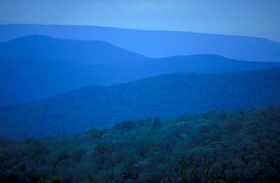 Blue Ridge Mountains Art Print