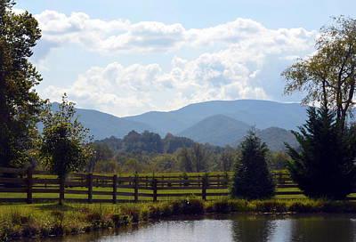 Photograph - Blue Ridge Mountains by Carla Parris
